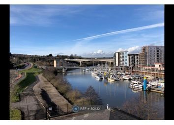 Thumbnail 1 bedroom flat to rent in Pierhead View, Penarth Marina