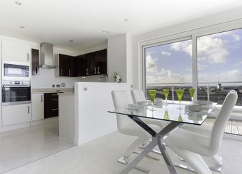 Thumbnail 3 bed flat for sale in Altitude, Seldown Lane, Poole, Dorset