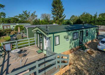 Thumbnail 2 bed mobile/park home for sale in 14 Rhos Park, Crossgates, Llandrindod Wells