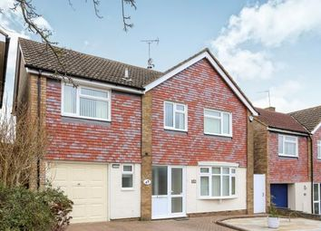 Thumbnail 4 bedroom detached house for sale in Gainsford Crescent, Hitchin, Hertfordshire, England