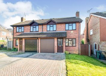 Thumbnail 3 bed semi-detached house for sale in Stockbridge Close, Basingstoke
