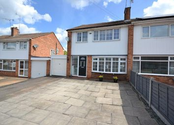 Thumbnail 3 bed semi-detached house for sale in Grass Acres, Leicester