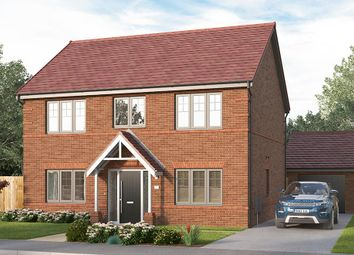 """Thumbnail 4 bed detached house for sale in """"The Lathbury"""" at Etwall Road, Mickleover, Derby"""