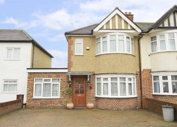 Thumbnail 3 bed end terrace house for sale in Lynmouth Drive, Ruislip