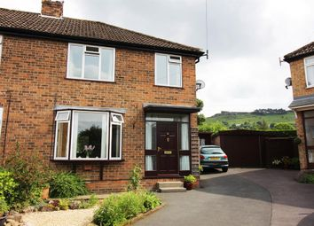 Thumbnail 3 bed semi-detached house for sale in Grange Close, Ilkley