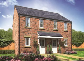 "Thumbnail 2 bed terraced house for sale in ""The Morden"" at Gower View Road, Gorseinon, Swansea"