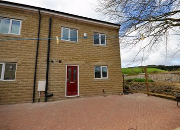 Thumbnail 5 bed semi-detached house for sale in Clough Lane, Halifax