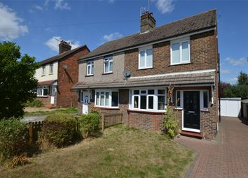 Thumbnail 3 bedroom semi-detached house for sale in Honeycrock Lane, Redhill