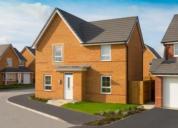 "Thumbnail 4 bed detached house for sale in ""Lincoln"" at Station Road, Methley, Leeds"