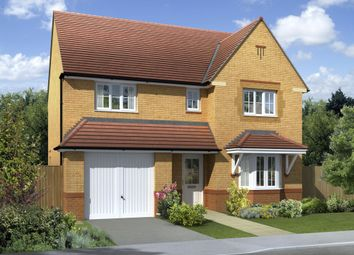 "Thumbnail 4 bed detached house for sale in ""Heathfield"" at Church Road, Webheath, Redditch"