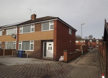 Thumbnail 3 bed property to rent in Cresswell Road, Hanley, Stoke-On-Trent