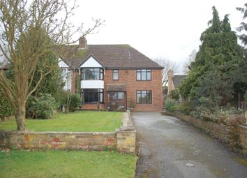 Thumbnail 5 bed semi-detached house for sale in Stratford Road, Oversley Green, Alcester