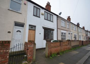 Thumbnail 3 bedroom terraced house to rent in Norman Road, Grimsby