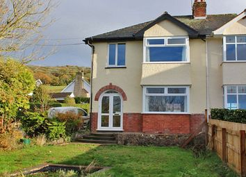 Thumbnail 4 bed semi-detached house for sale in Fortescue Road, Sidmouth