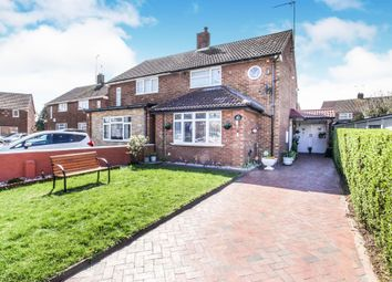 Thumbnail 3 bedroom semi-detached house for sale in Eastcott Close, Luton