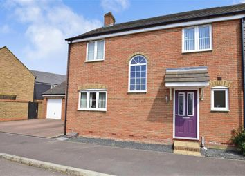Thumbnail 3 bed semi-detached house for sale in Downsberry Road, Ashford, Kent