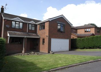 Thumbnail 5 bedroom detached house for sale in Moorhead Drive, Bagnall, Stoke-On-Trent