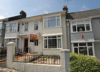 Thumbnail 3 bedroom terraced house for sale in Green Park Avenue, Mutley