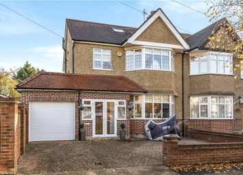 Thumbnail 4 bed semi-detached house for sale in Hawthorne Avenue, Ruislip, Middlesex