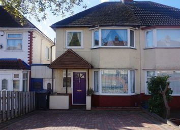 Thumbnail 3 bedroom semi-detached house for sale in Derrydown Road, Perry Barr, Birmingham