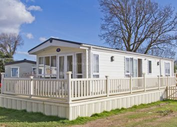 Thumbnail 2 bedroom lodge for sale in Hook Park Estate, Hook Park Road, Warsash, Southampton