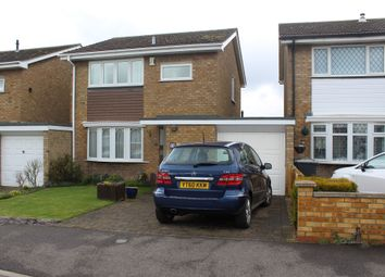Thumbnail 3 bed detached house for sale in Flexmore Way, Langford, Biggleswade