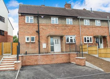 Thumbnail 3 bed end terrace house for sale in Babington Road, Rothley, Leicester
