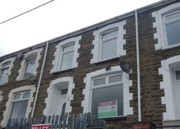 Thumbnail 3 bed terraced house to rent in Villiers Road, Blaengwynfi