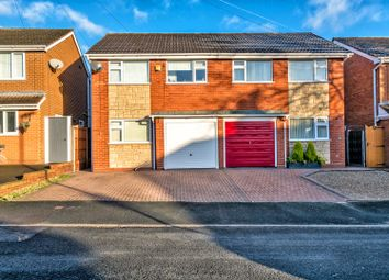 Thumbnail 3 bed semi-detached house for sale in Stoney Lea Road, Cannock
