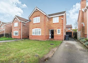 Thumbnail 4 bed detached house for sale in Littlewood Close, Whiston, Prescot