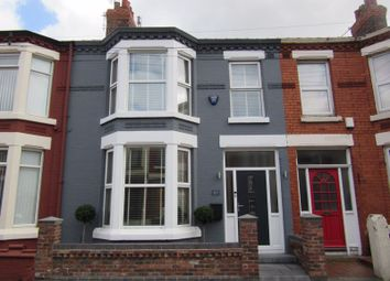 Thumbnail 3 bed terraced house for sale in Saxonia Road, Liverpool