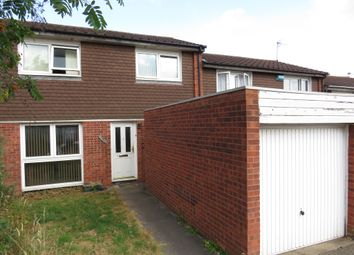 Thumbnail 2 bed town house for sale in Booth Close, Leicester