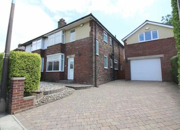 Thumbnail 3 bedroom semi-detached house to rent in Limefield Brow, Bury, Greater Manchester