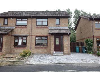 Thumbnail 3 bed semi-detached house for sale in Culzean Drive, Newarthill, Motherwell