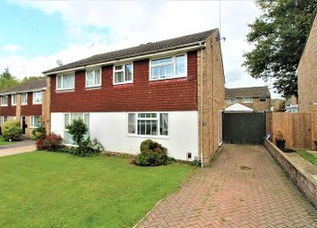 Thumbnail 3 bed semi-detached house for sale in Heathfield, Crawley, West Sussex.