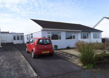 Thumbnail 3 bed semi-detached bungalow for sale in Heol Y Graig, Aberporth, Ceredigion