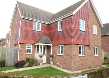 Thumbnail 4 bed detached house for sale in Hawkstone Close, Hadnall, Shrewsbury