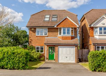 Thumbnail 5 bed detached house for sale in Grange Road, New Haw, Addlestone