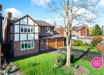 Thumbnail 4 bed detached house for sale in Sedgeford Drive, Shrewsbury