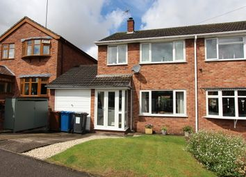 Thumbnail 3 bed semi-detached house for sale in St. Davids Road, Clifton Campville, Tamworth