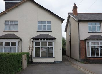 Thumbnail 3 bed semi-detached house to rent in Western Road, Mickleover, Derby