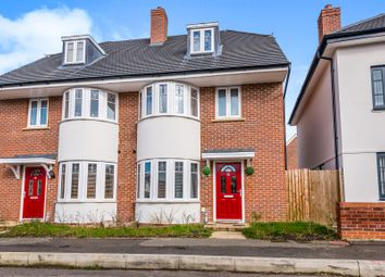 Thumbnail 4 bedroom semi-detached house for sale in Fitzgerald Road, Northampton