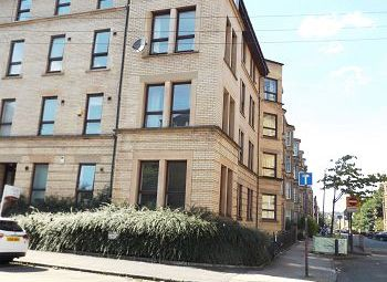 Thumbnail 2 bed flat to rent in Ashley Street, Glasgow
