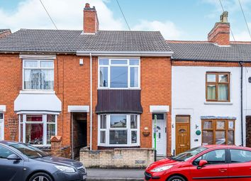Thumbnail 2 bed terraced house for sale in Crescent Road, Hugglescote, Coalville