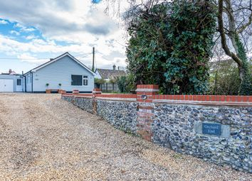 Thumbnail 3 bed detached bungalow for sale in Mill Road, Barningham, Bury St. Edmunds