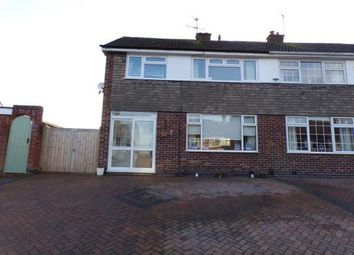 Thumbnail 3 bedroom semi-detached house for sale in Fieldcourt Road, Groby, Leicester, Leicestershire