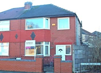 Thumbnail 3 bedroom semi-detached house for sale in Moorside Avenue, Droylsden, Manchester