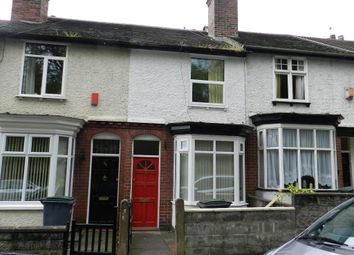 Thumbnail 2 bed terraced house to rent in Eastbourne Road, Hanley, Stoke-On-Trent