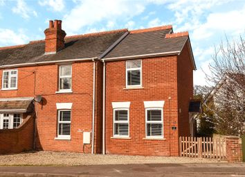 Thumbnail 3 bed semi-detached house for sale in The Crescent, Darby Green Road, Blackwater, Camberley