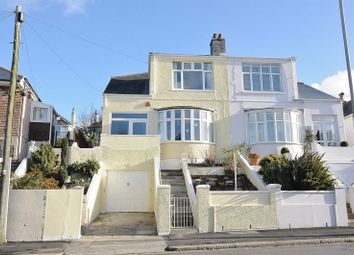 Thumbnail 3 bed semi-detached house for sale in Weston Park Road, Peverell, Plymouth
